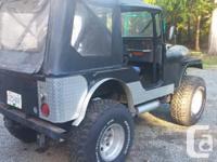 Make Jeep Model Cj5 Year 1975 Colour Black kms 25000