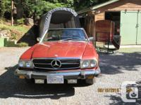 Make Mercedes-Benz Model 450 Year 1975 Colour RED kms