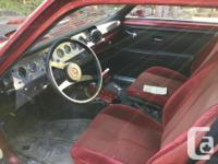 Make Pontiac Year 1975 Colour Red Trans Automatic kms