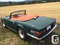 Make Triumph Year 1975 Colour Green Trans Manual kms