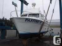 FOR SALE 6-pack Charter Boat with Gear Available 1976
