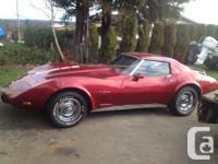 Make Chevrolet Model Corvette Year 1976 Colour