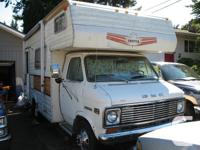 1976 Chevy Motorhome 350cu.in. motor Been sitting for a