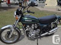 kms 13316 1976 Kawasaki KZ 900 A4 This RARE bike is in