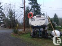 1976 py 26 26.5 ft over all / beam 9.50 /built in