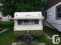 NEW COST ... ....1976 motorbike camper. Sleeps 2