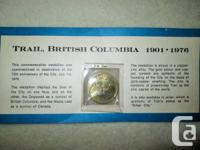 1901 - 1976 75th Anniversary of Trail B.C.