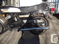 yamaha rd 400 bought new in 1976 rebuilt 3 years ago
