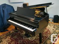 1977 Baldwin Grand Piano. Serial # R217775 (Artist