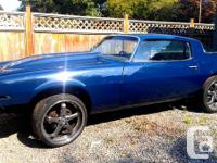 We have a 1977 Camaro that we took on for a restoration