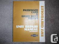 1977 Chevrolet Passenger Cars & Light Duty Trucks Unit, used for sale  British Columbia