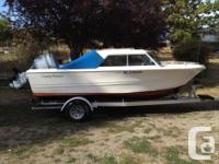 Double Eagle 17.5 ft boat for sale, 2003 Honda 130 HP