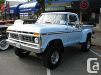 Make Ford Model F-150 Year 1977 Colour sky blue 1977