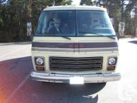 1977 GMC Royale 26 ft. A Class dry bath motorhome for