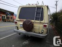 A classic! 1977 GMC Royale Motorhome with front wheel