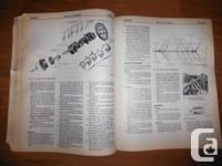 """1977 Ford Car Shop Guidebook"" Volume 2- Engine. OEM"