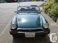 Make MG Year 1977 Colour Jaguar Racing Green Trans