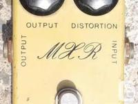 1977 MXR Distortion Plus, Script Logo. Contains the