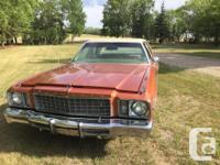 Make Plymouth Model Fury Year 1977 Trans Automatic kms