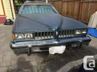 Make Pontiac Year 1977 Colour Blue Trans Automatic 1977
