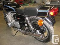 1977 suzuki gs750E, 21000 original km., new paint ,seat