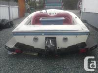 project jet boat 18 ft new seats panther pump original