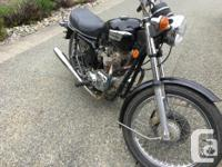 Make Triumph Model Bonneville Year 1977 kms 2128 1977