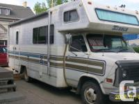 ALL READYFOR SUMMER BEAUTIFUL MOTORHOME. WITH