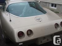 Make Chevrolet Model Corvette Year 1978 Colour Gold