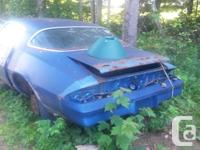 selling my 1978 camaro rs parts car,not much left of