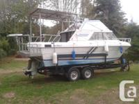 Ready to go fishing. 140 qa volvo twins with 280 legs,