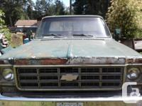 Make Chevrolet Model 2500 Year 1978 Colour Green and