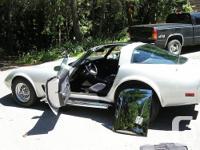 Make Chevrolet Model Corvette Year 1978 Colour Silver