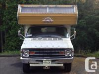 Awesome camper, runs great, is really clean, and sleeps