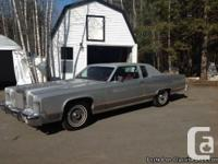 Collector car 1978 Lincoln continental town coupe,