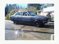 1978 TOYOTA corolla -1980 celica engine and trans for sale  British Columbia