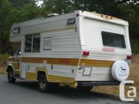 1978 Vanguard Motor Home. Has been sitting for 11