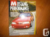 """Mustang Efficiency Handbook"" by by William Mathis HP"