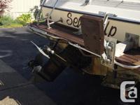 21' Glastron. GM V8 MerCruiser. $3200 OBO Rebuilt leg.