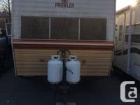 1978 28 foot prowler travel trailer tandum wheels fully