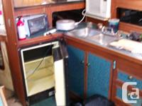 Excellent weekender or possible live aboard. Needs some