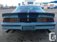Make Chevrolet Model Camaro Year 1979 Colour Blue kms