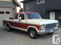 Make Ford Model F-150 Year 1979 Colour RED kms 60500