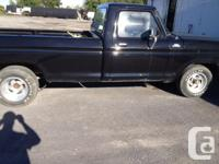 I have a 1978 ford f-100 black two wheel drive long box