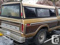 Make Ford Trans Automatic 79 f250 camper special. 400.