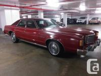 Make Ford Model LTD Year 1979 Colour Red Trans
