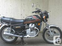 Make Honda Year 1979 kms 36850 A classic V Twin in