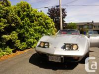 Make Chevrolet Model Corvette Year 1979 Colour silver