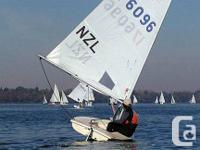 1979 Laser hull is in sailable condition, mast step has