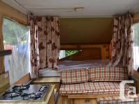 1979 Lionel Tent Trailer in great condition. Has a